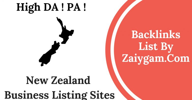Latest 2019 High DA PA New Zealand Business Listing Sites