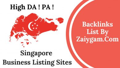 Singapore Business Listing Sites List