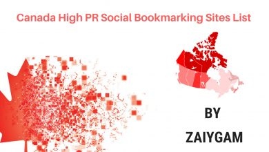 Canada High PR Social Bookmarking Sites List