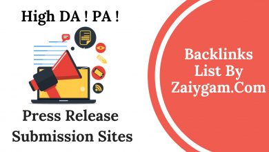 High DA PA Press Release Submission Site List