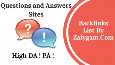 High DA PA Questions and Answers Submission Site List