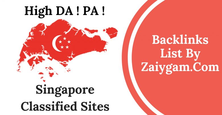 High DA PA Singapore Classified Site List