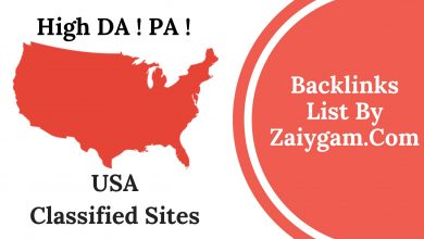 High DA PA USA Classified Site List