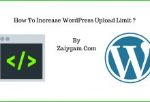 How To Increase WordPress Upload Limit 2019