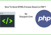 How To Send HTML Format Email in PHP